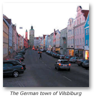the german town of Vilsbiburg